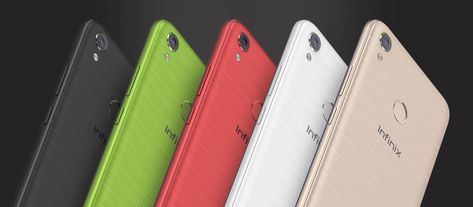 Infinix Hot 5 Colour Variants