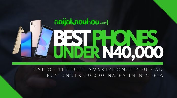 best phones under 40000 naira in nigeria